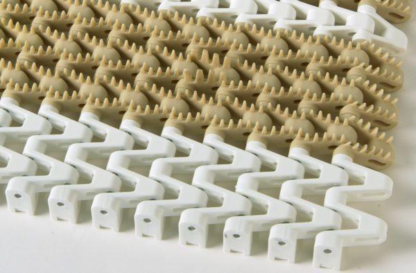 25MM 10Mm brush top santoprene high friction super tight chain