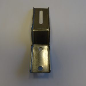 GUIDE Rail bracket channel w 0 h 0 2 stainless steel