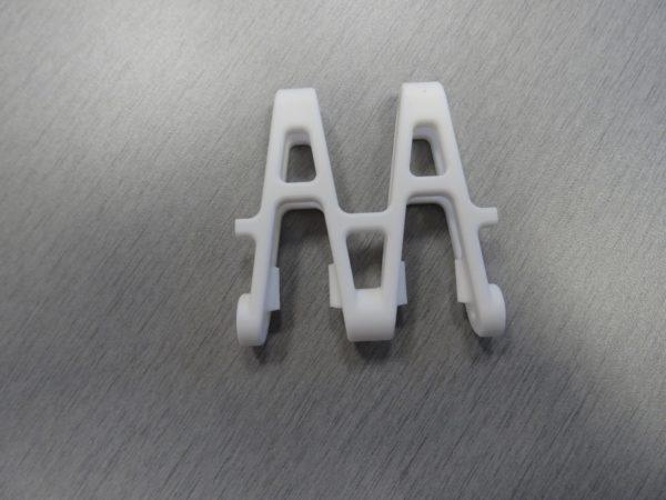 PLAIN Acetal center double link 50mm supertight