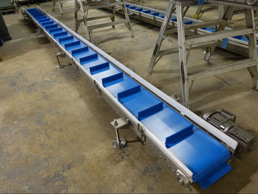 sanitory incline Conveyor