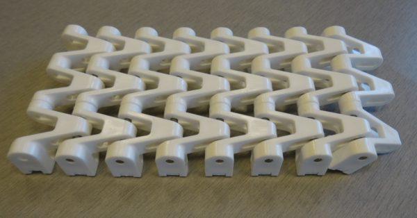 25MM Plain White SuperTight chain