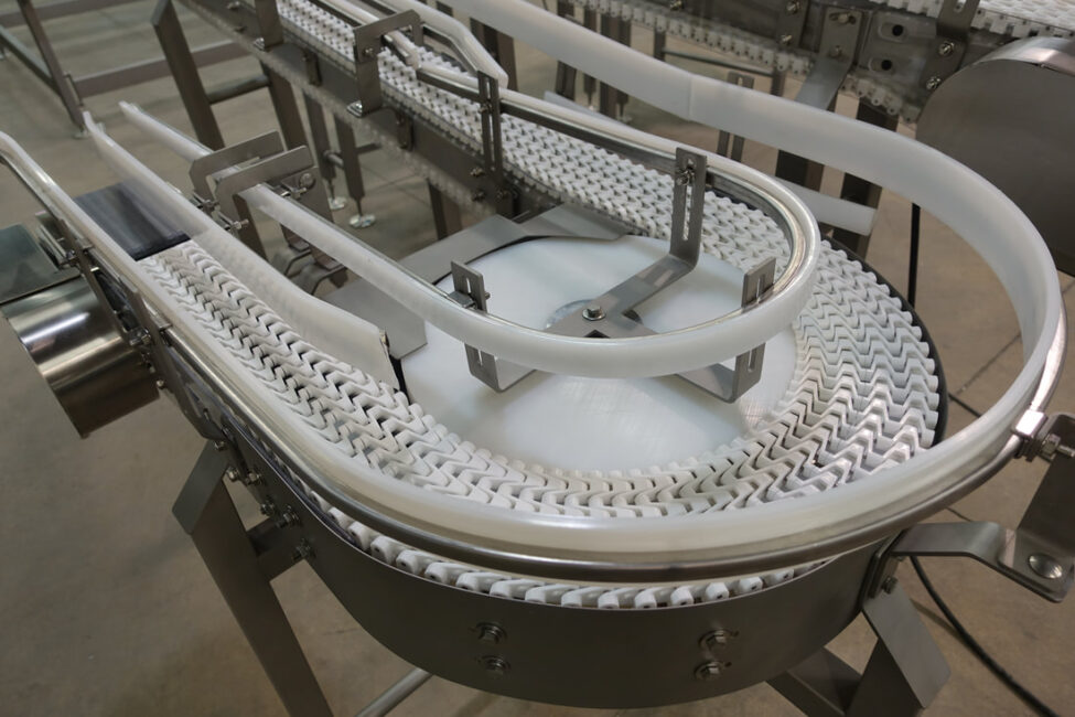 wheel bend close Conveyor