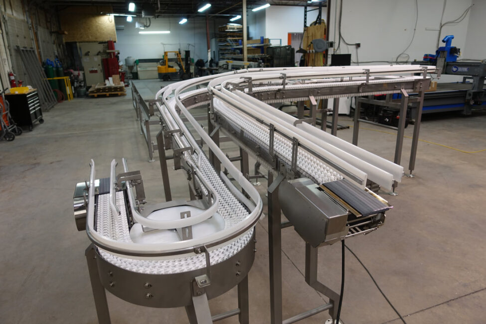 white bend Conveyor
