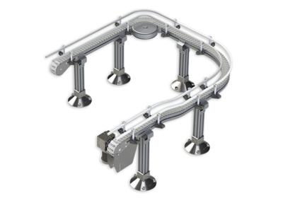 Modular Plastic Chain Conveyor