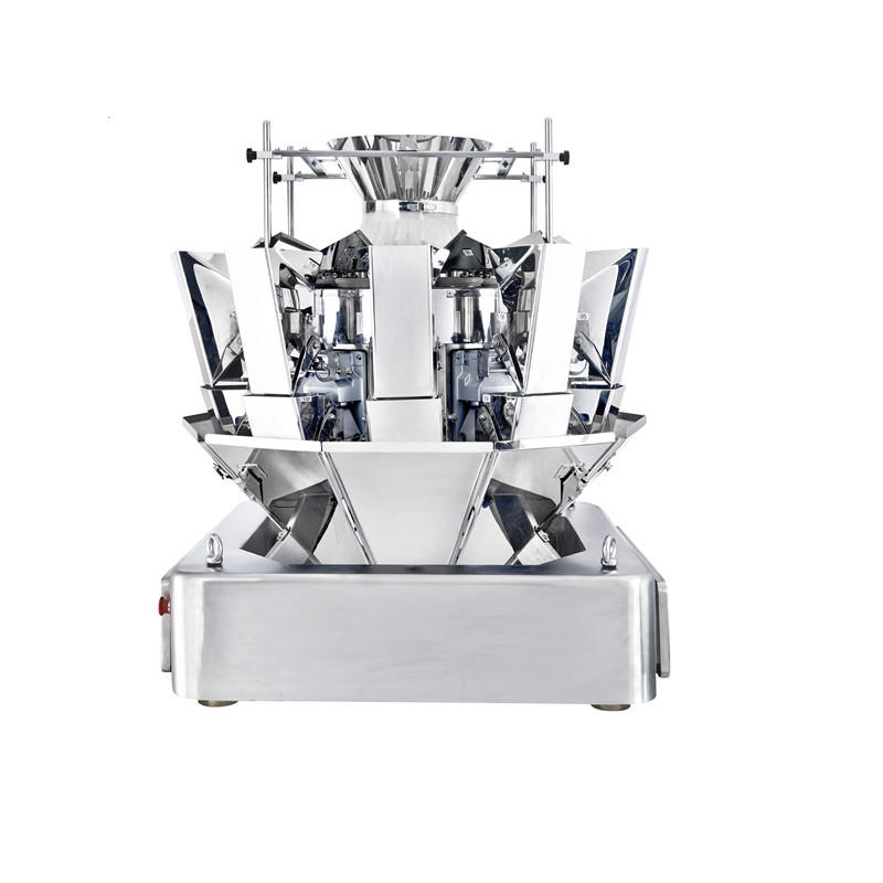 Food Weighing Machine Standard Multihead Weigher With New Springless Actuator