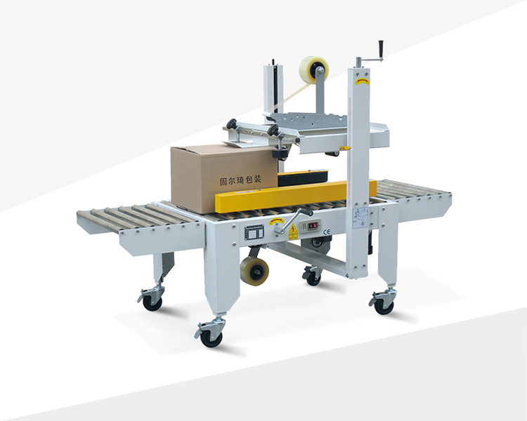 Two sides belt driven carton sealer