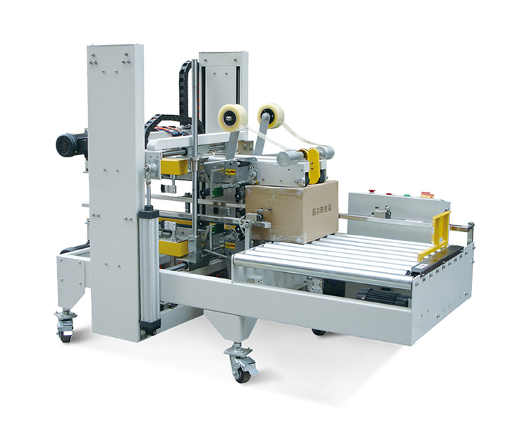 Automatic corner and side sealing machine