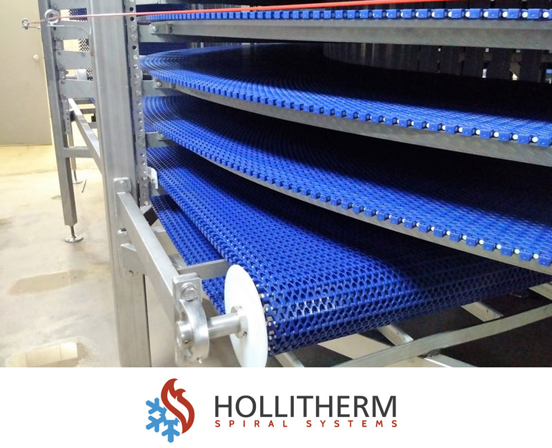 Hollitherm Spiral Conveyor