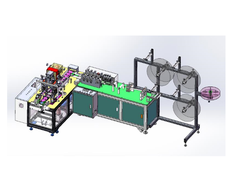 Fully Automatic Disposable Face Mask Production Line